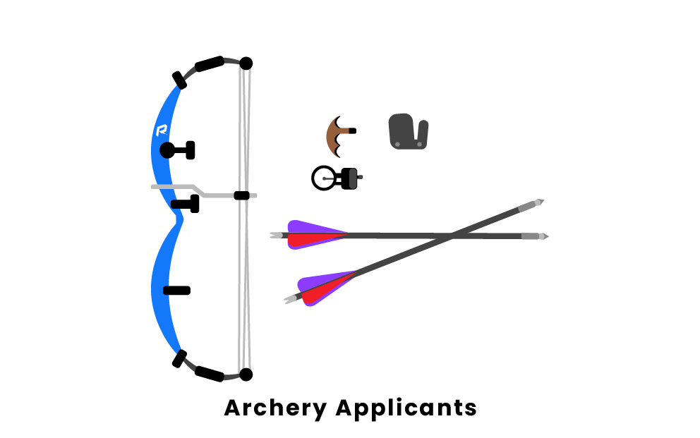 archery applicants