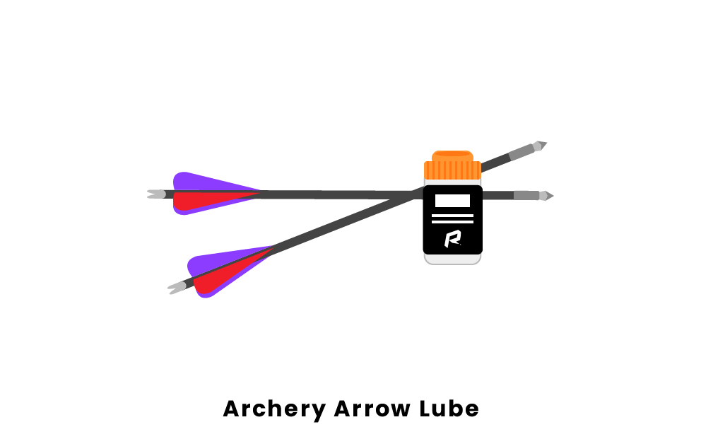 archery arrow lube