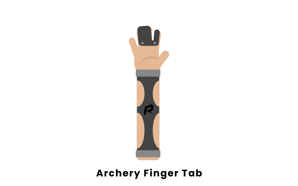 archery finger tab
