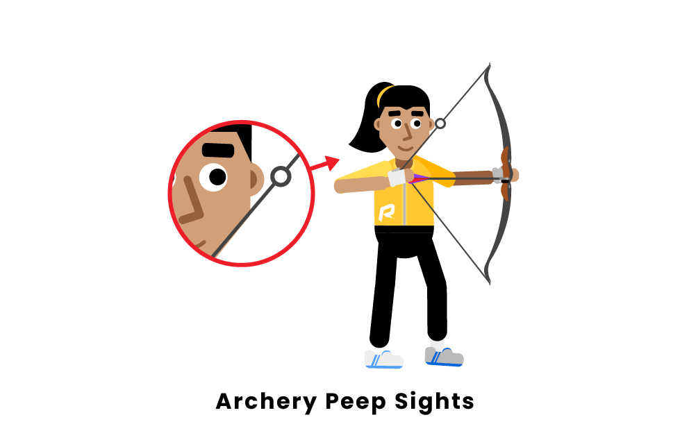 archery peep sights