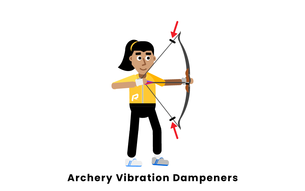 archery vibration dampeners