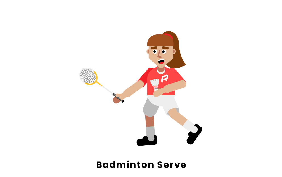 Badminton Serve