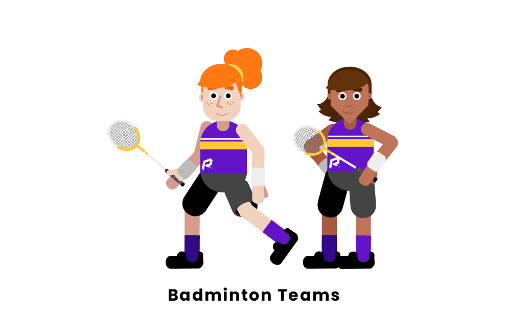 badminton teams
