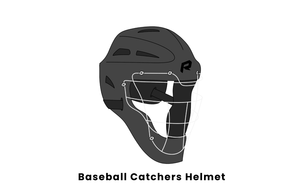 Baseball Catcher's Helmet