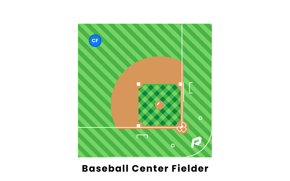 Baseball Center Fielder
