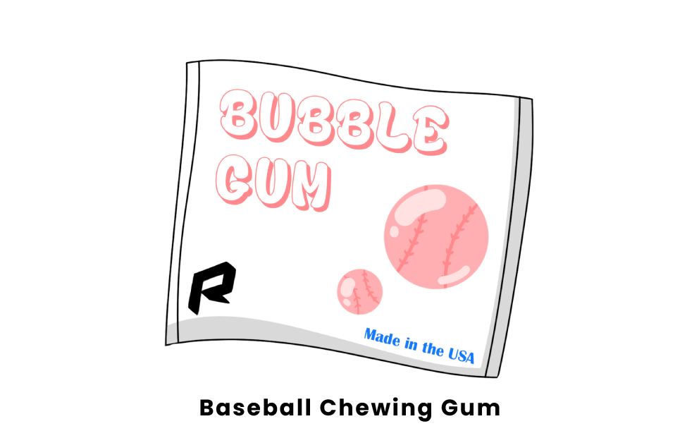 baseball chewing gum
