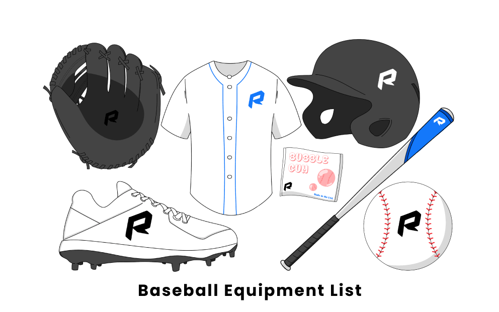 Baseball Equipment List