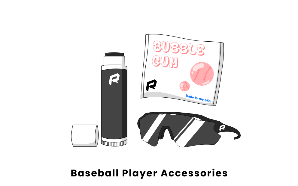 baseball player accessories