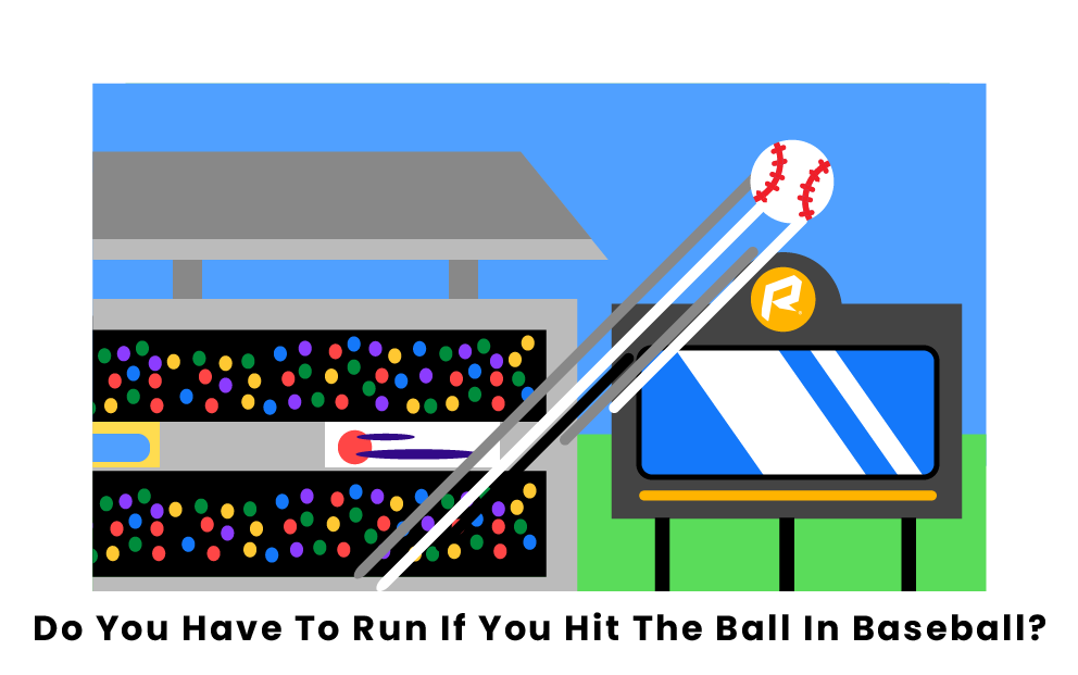 When do you have to run in baseball?