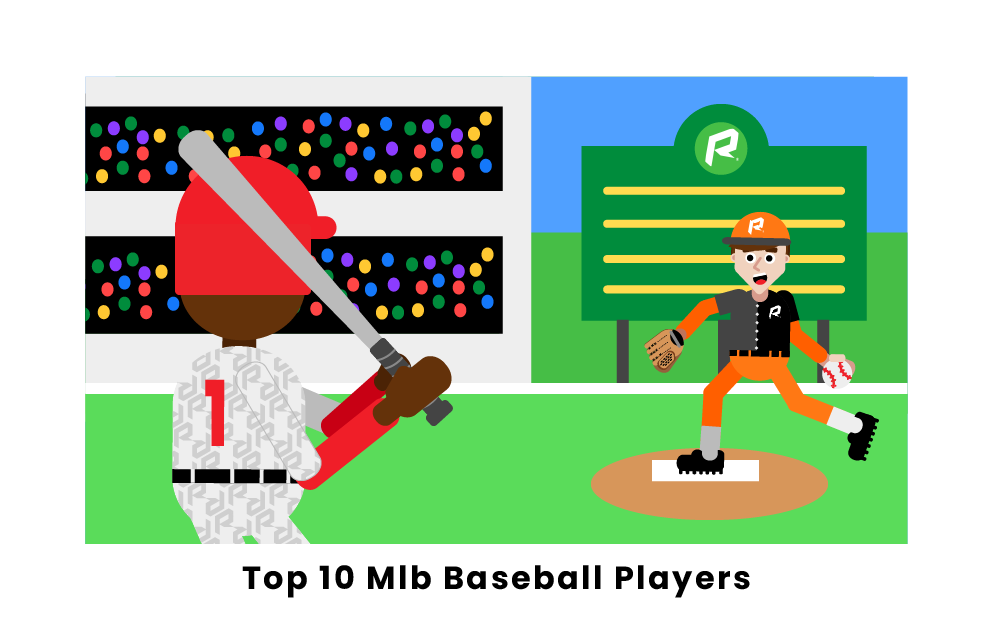 Top 10 MLB Baseball Players