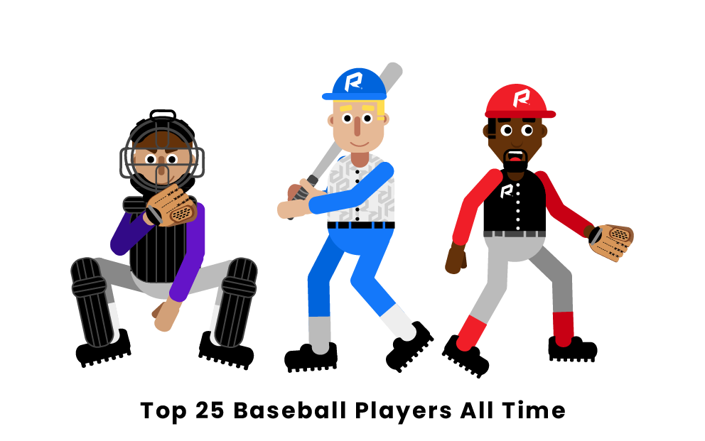 Top 25 Baseball Players All Time