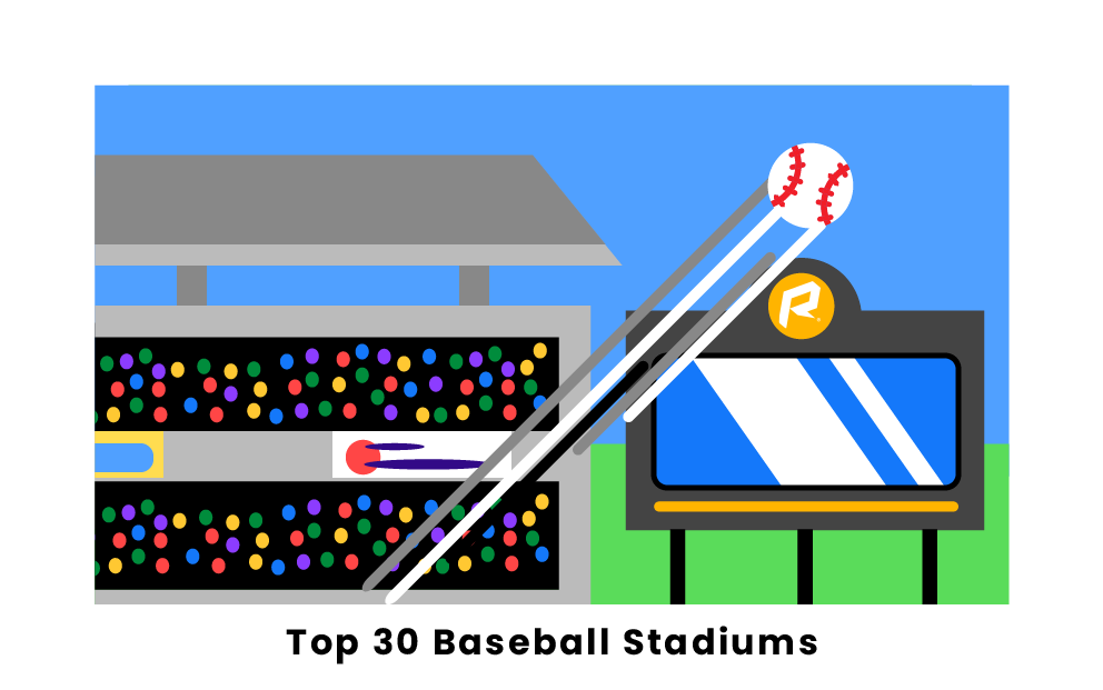 Top 30 Baseball Stadiums