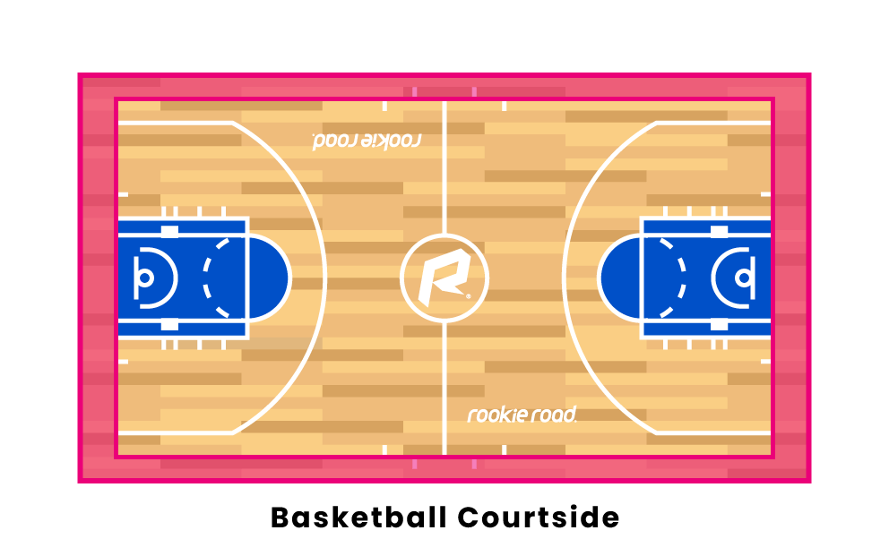 basketball courtside
