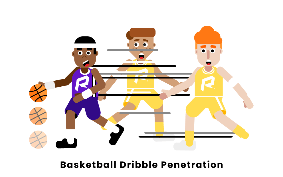 Basketball Dribble Penetration