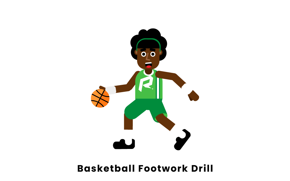 basketball footwork drill