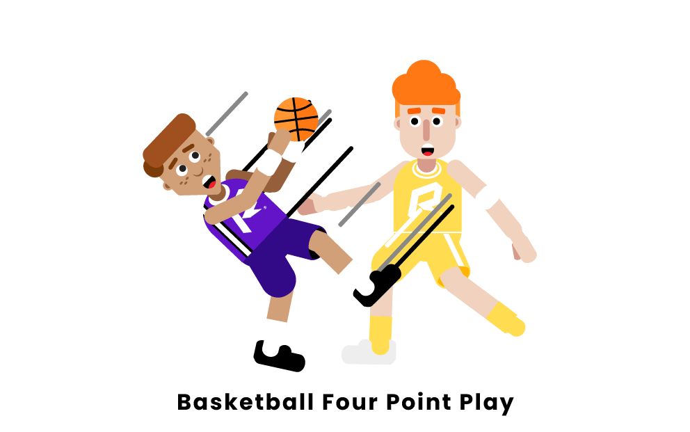 Basketball Four-Point Play