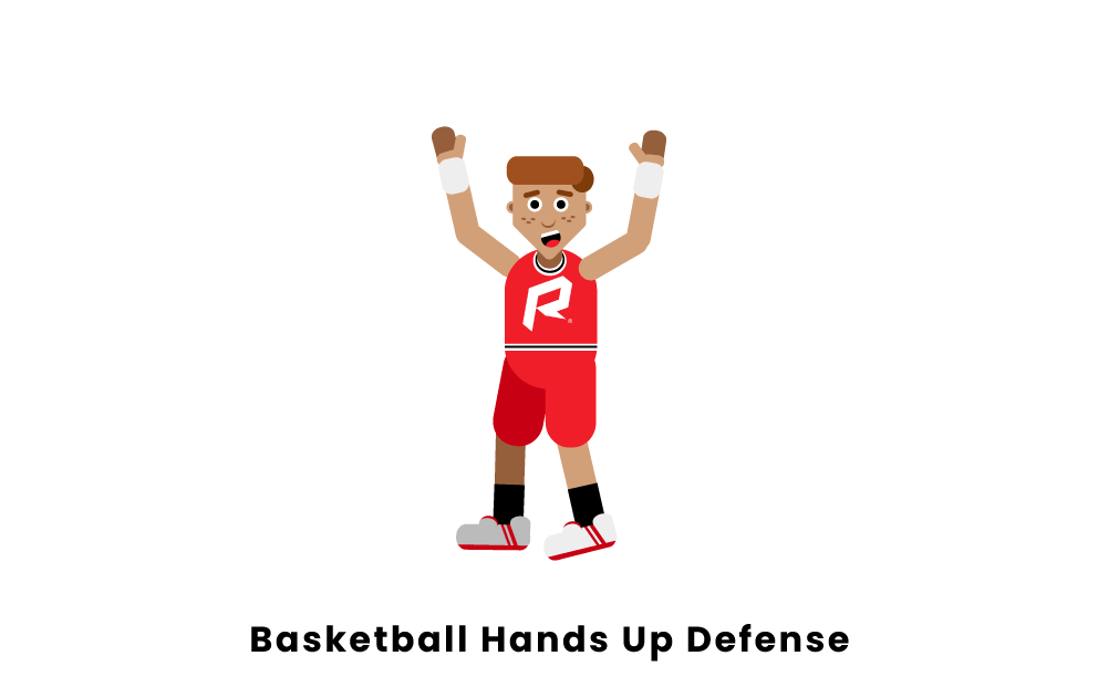 Basketball Hands Up Defense