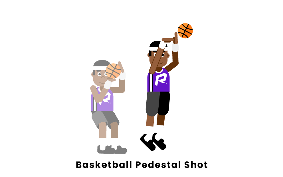 Basketball Pedestal Shot