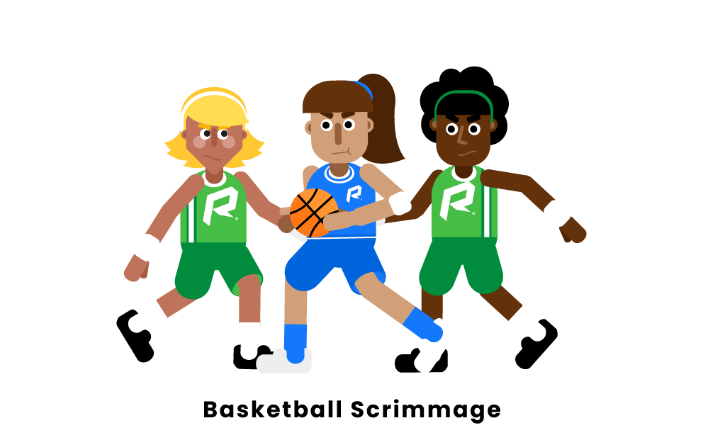 Scrimmage Basketball