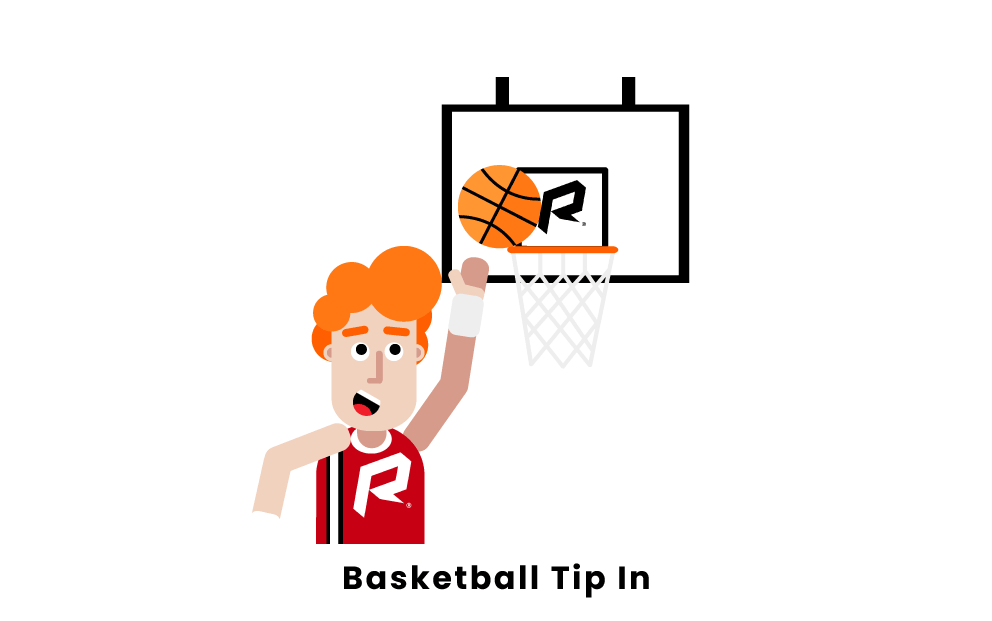 basketball tip in