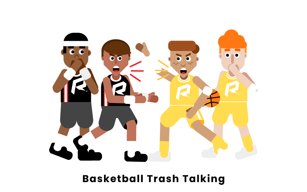 basketball trash talking