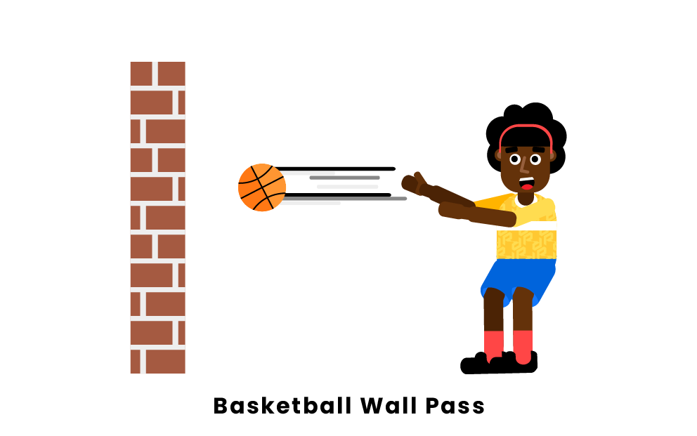 Basketball Wall Pass