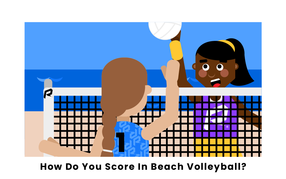 How Do You Score In Beach Volleyball?
