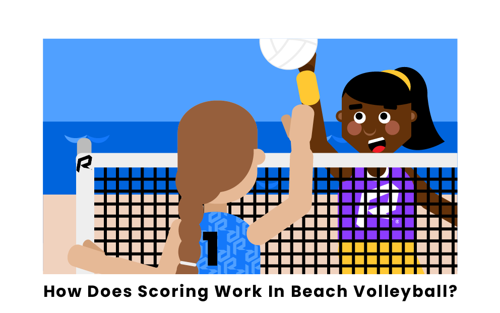 How Does Scoring Work In Beach Volleyball?