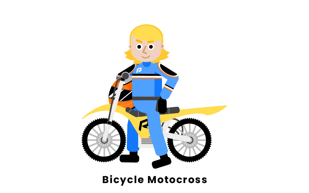 Bicycle motocross