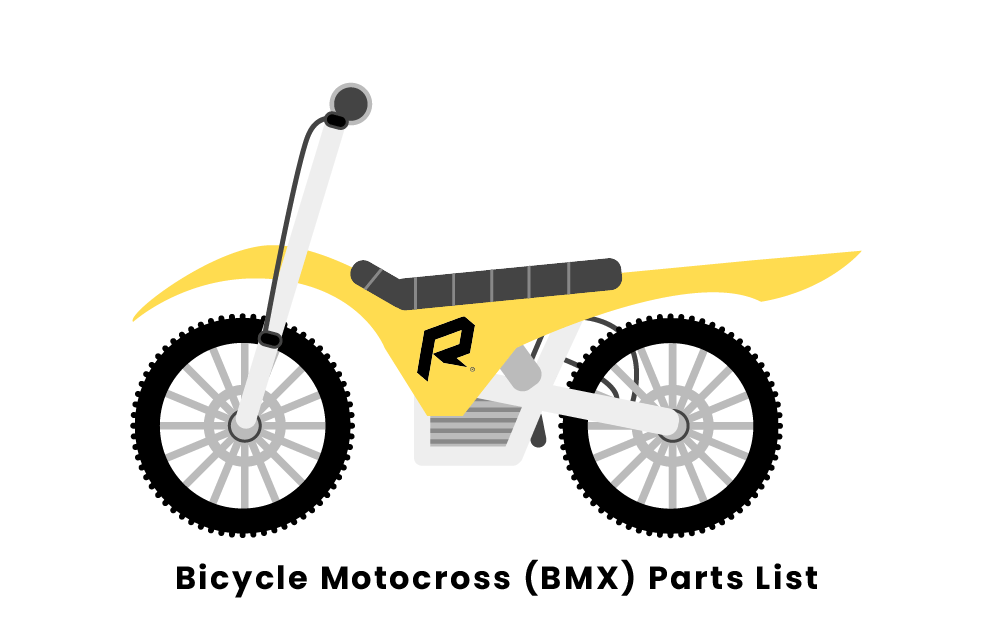 Bicycle Motocross Parts List