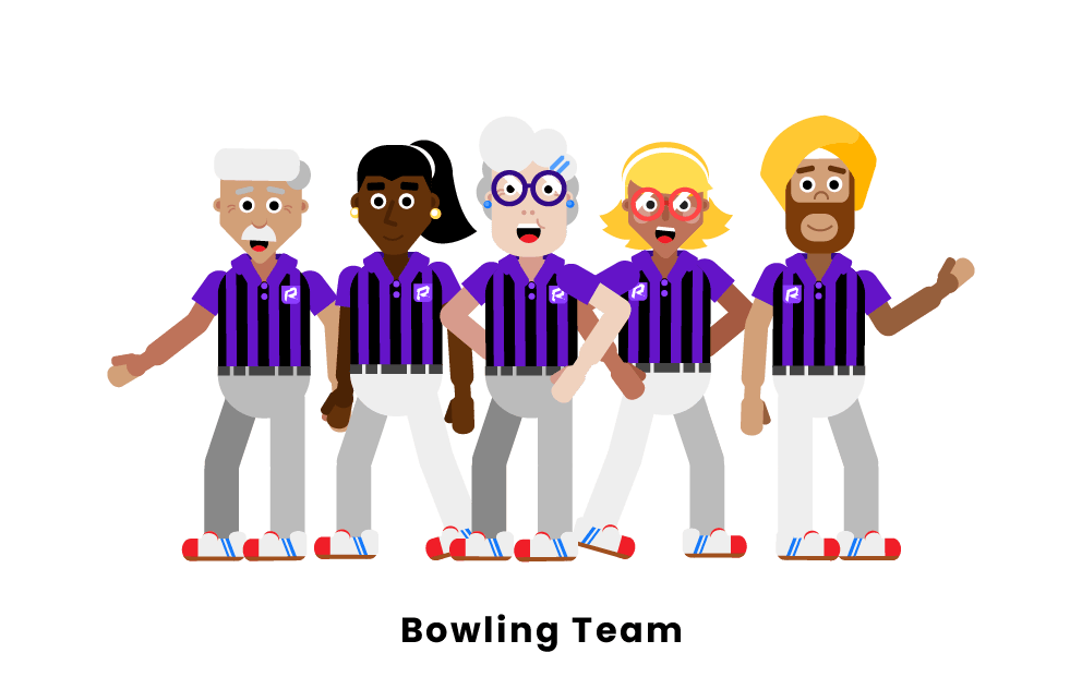 Bowling Team Positions