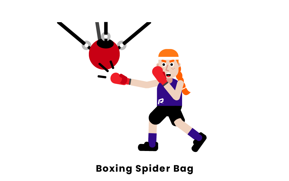 Boxing Spider Bags