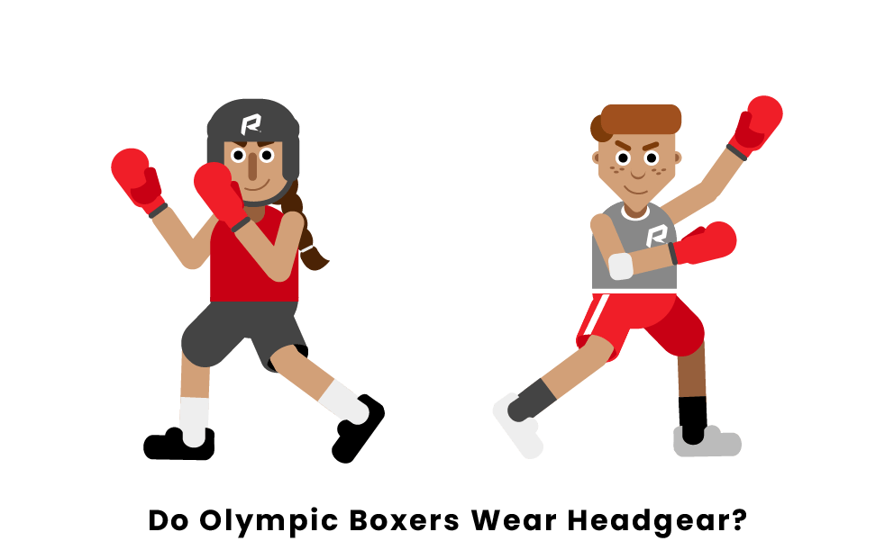 Do Olympic Boxers Wear Headgear?