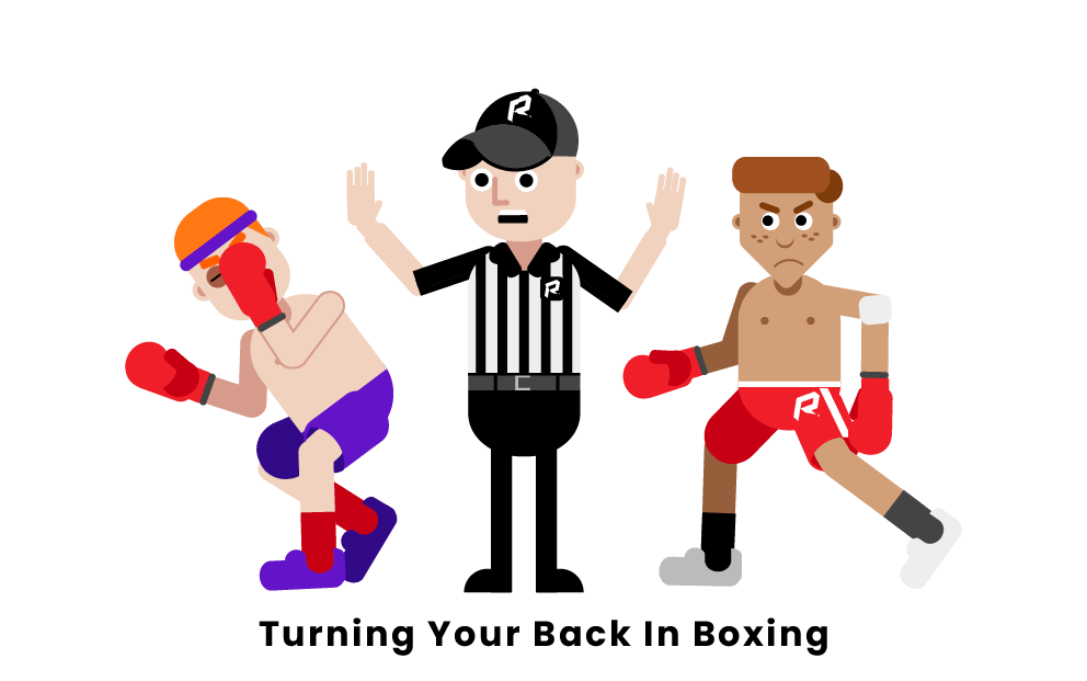 Turning your back in Boxing