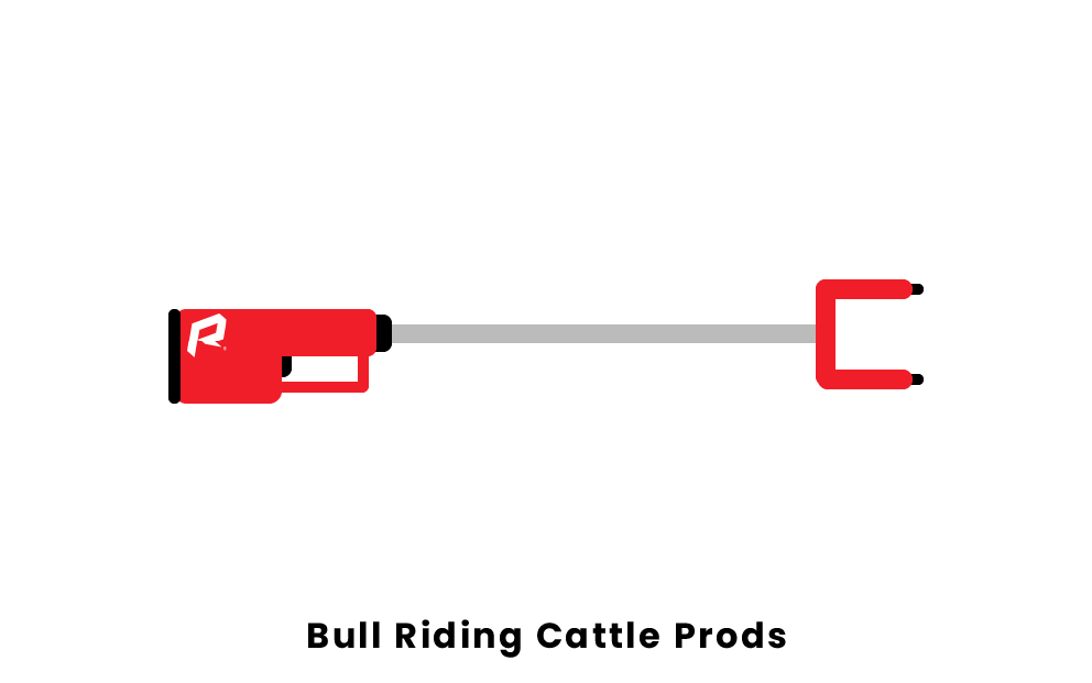 Bull Riding Cattle Prods
