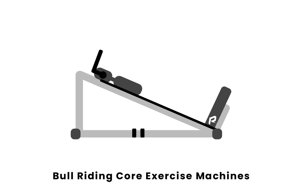 Bull Riding Core Exercise Machines