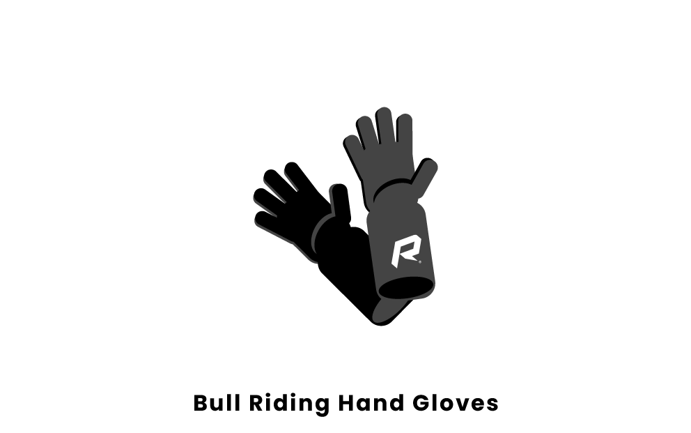 Bull Riding Hand Gloves