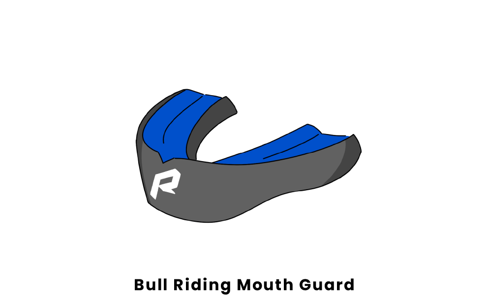 Bull Riding Mouth Guard