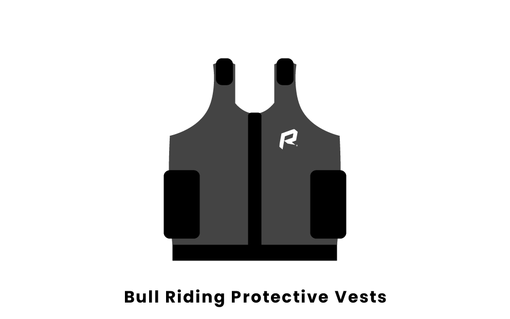 Bull Riding Protective Vests