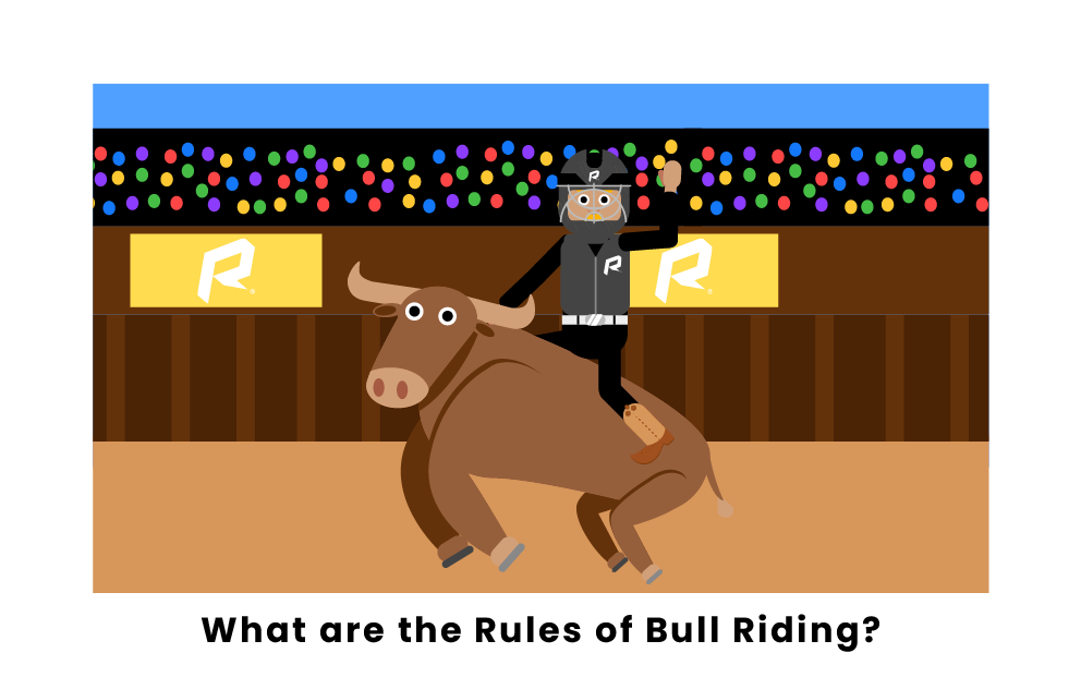 What are the rules of bull riding?