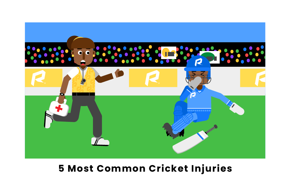 5 Most Common Cricket Injuries