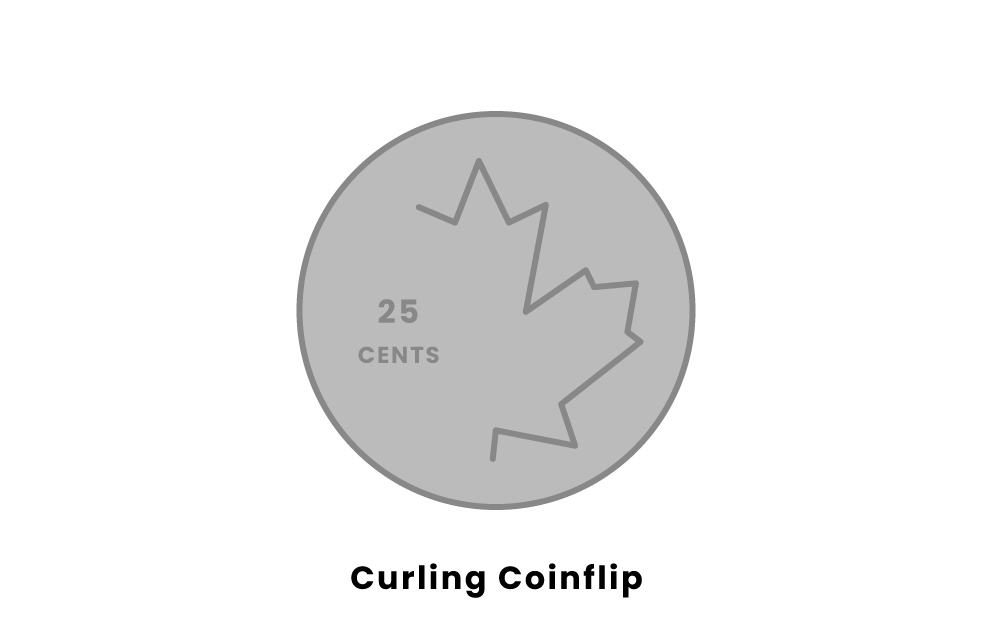 curling coinflip