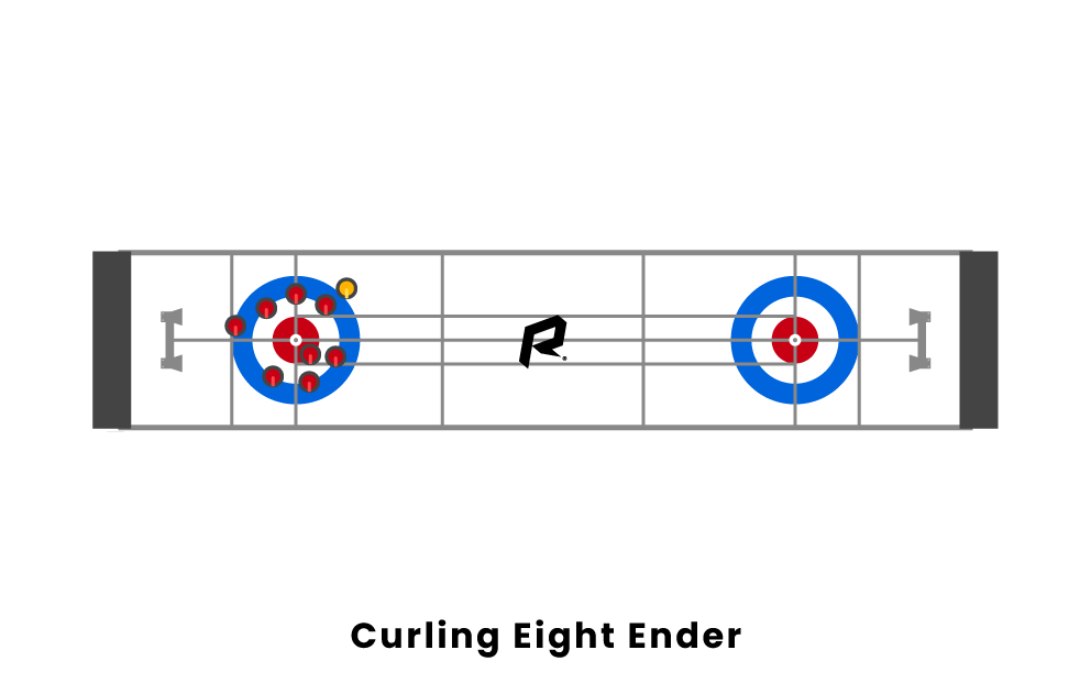 curling eight ender