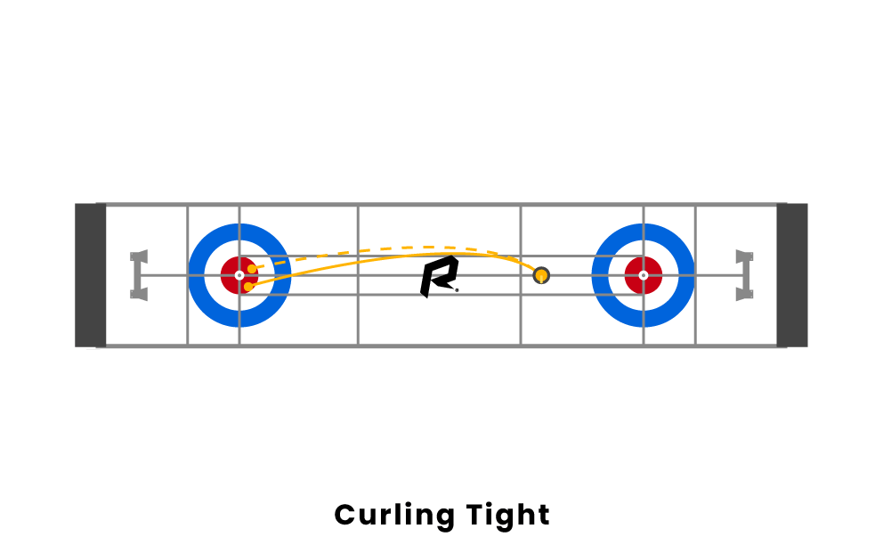 curling tight