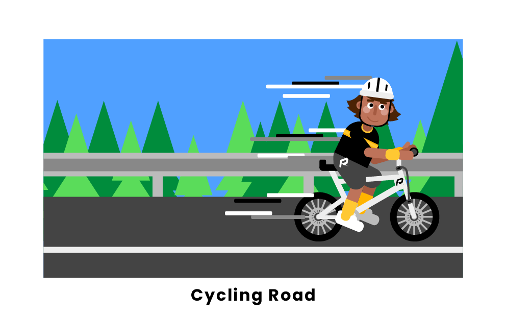 cycling road