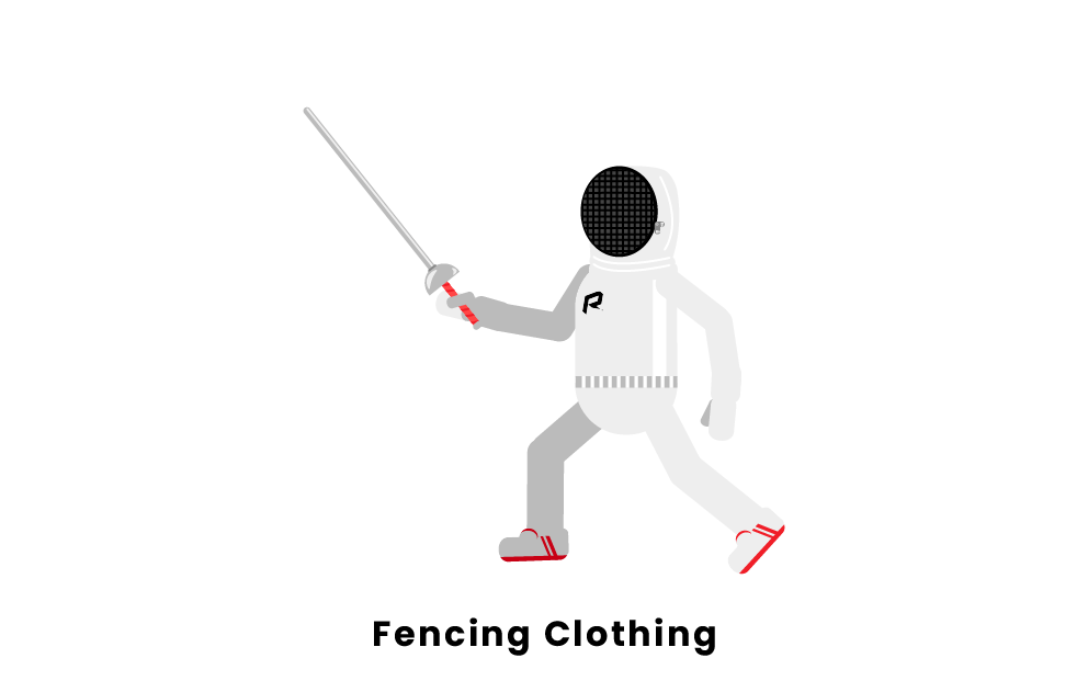 fencing clothing