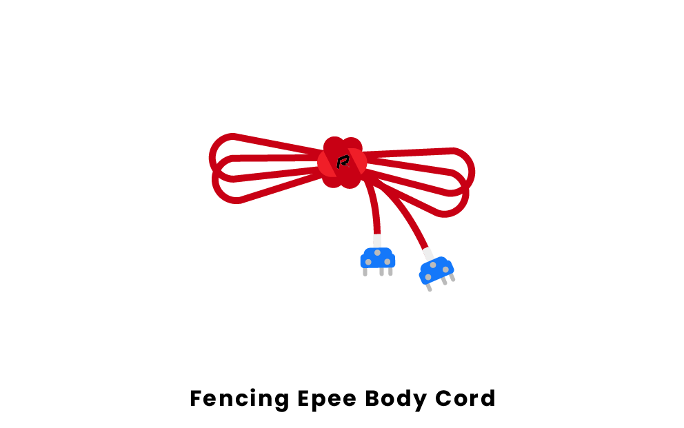 fencing epee body cord