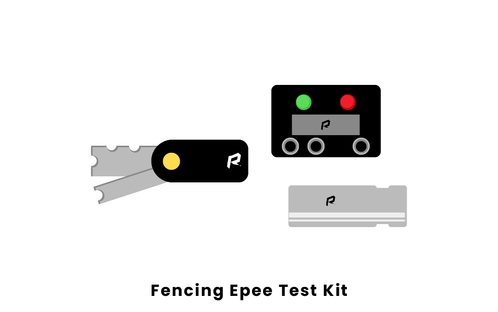 fencing epee test kit