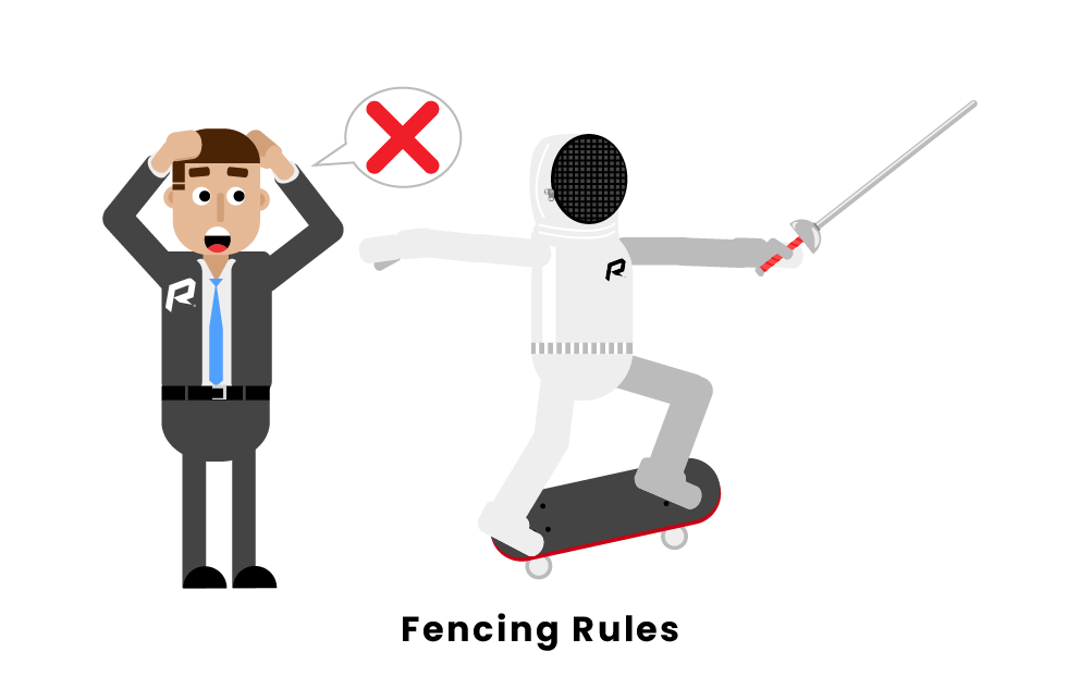 The Top 10 Rules Of Fencing