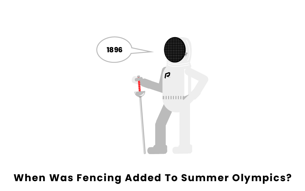 When Was Fencing Added To The Summer Olympics?